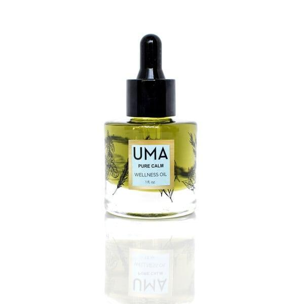 <p>Wind down after a hectic day at work by dropping some of this <span>Uma Pure Calm Wellness Oil</span> ($85) into a warm bath or mixing it into your lotion.</p>