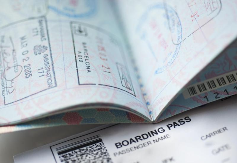 Make sure all your details on your boarding pass match up to your passport. Photo: Getty