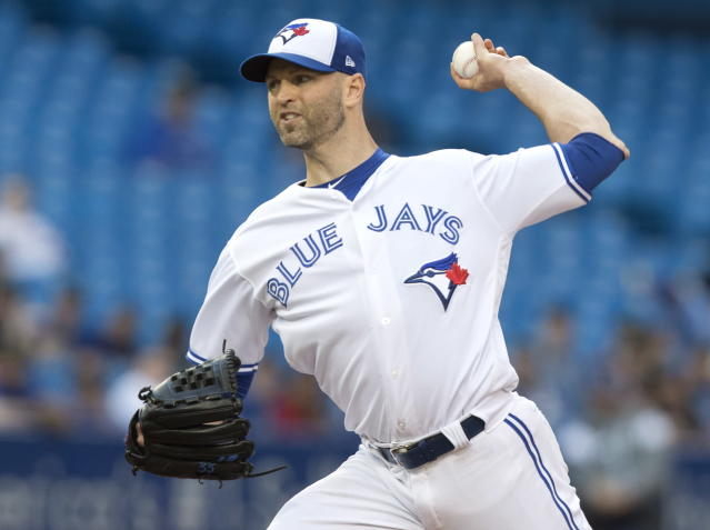 Starting pitcher J.A. Happ was traded to the New York Yankees. (AP)