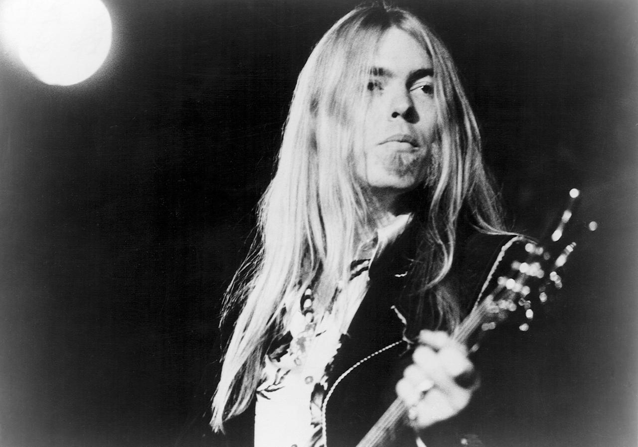 <p>Gregg Allman, circa 1970. (Michael Ochs Archives/Getty Images) </p>