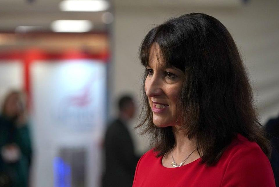 Shadow chancellor Rachel Reeves (Gareth Fuller/PA) (PA Wire)