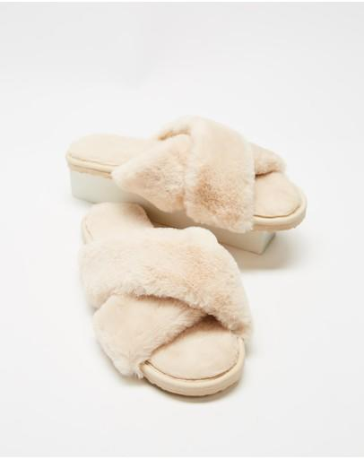 Spurr Cloud Slippers, $34.99 The Iconic