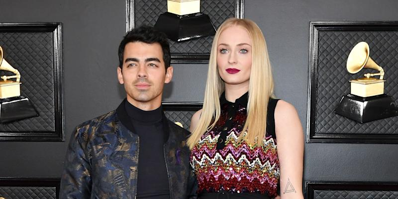 Pregnant Sophie Turner celebrates her birthday with Joe Jonas - and sparkling water!