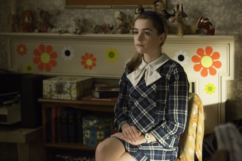 Sally Draper (Kiernan Shipka) - Mad Men _ Season 6, Episode 12 _ 'The Quality of Mercy' - Photo Credit: Jordin Althaus/AMC