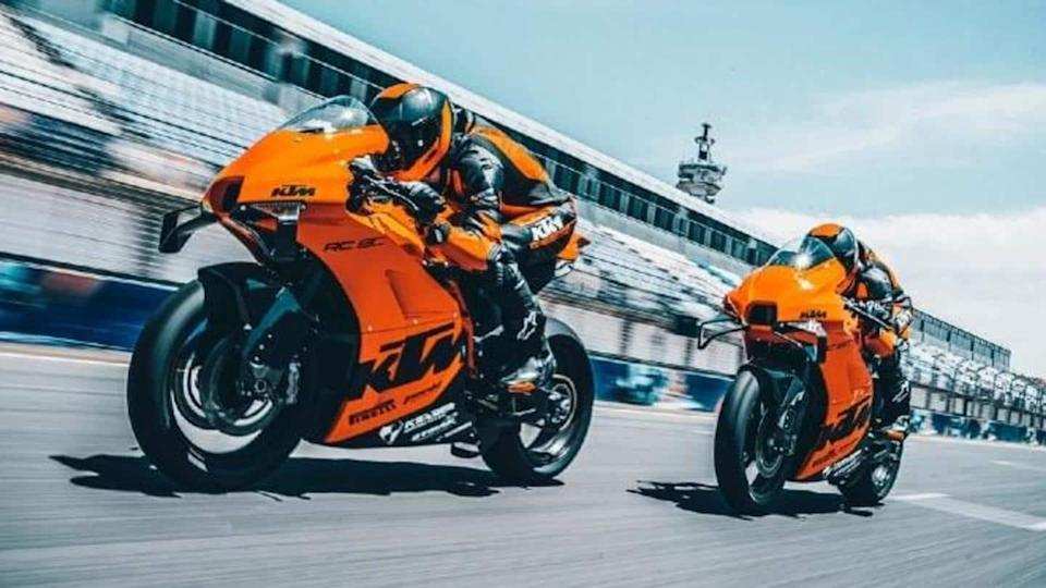 Limited-run KTM RC 8C track-only motorbike breaks cover
