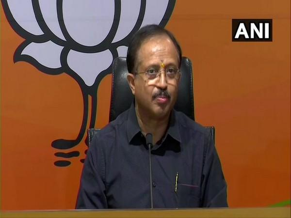 Union Minister V Muraleedharan addressing press conference on Friday. Photo/ANI