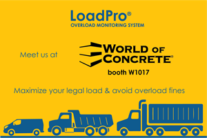 Meet us at World of Concrete, booth W1017, June 8-10