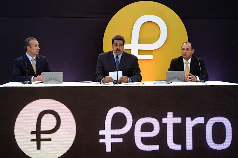 Leader says he hopes the Petro can cure country's financial woes. Critics say it wont.