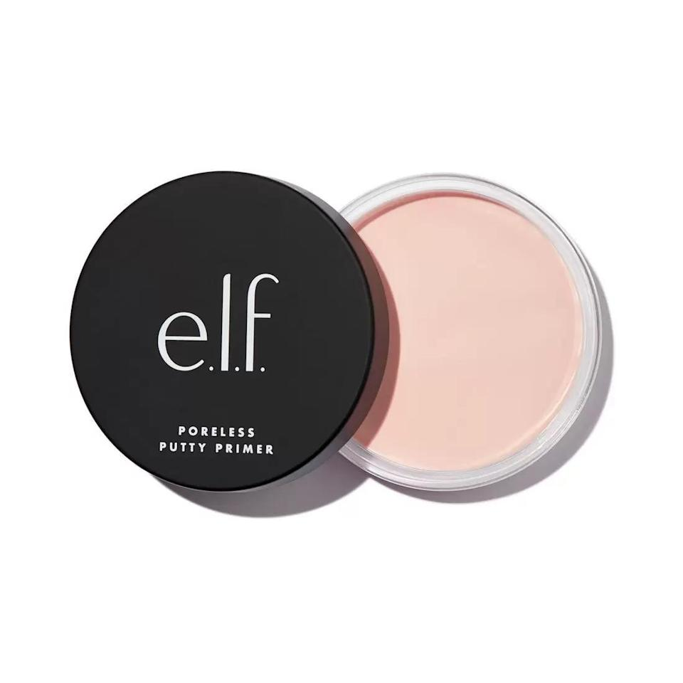 "<p><strong>e.l.f. Cosmetics</strong></p><p>elfcosmetics.com</p><p><strong>$8.00</strong></p><p><a href=""https://go.redirectingat.com?id=74968X1596630&url=https%3A%2F%2Fwww.elfcosmetics.com%2Fporeless-putty-primer%2F85912.html&sref=https%3A%2F%2Fwww.harpersbazaar.com%2Fbeauty%2Fmakeup%2Fg35163328%2Fbest-drugstore-primer%2F"" rel=""nofollow noopener"" target=""_blank"" data-ylk=""slk:Shop Now"" class=""link rapid-noclick-resp"">Shop Now</a></p><p>At just $8 a pop, this accessible putty primer fills in any texture, pores, or marks anywhere on your face, making you look, well, totally poreless. </p>"