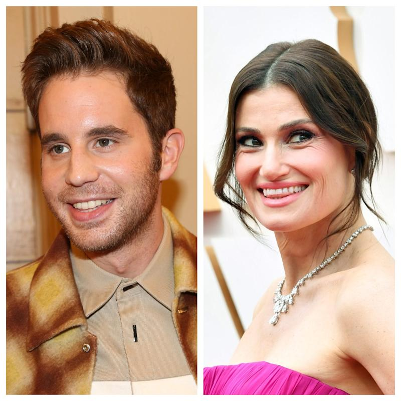 """Ben Platt and Idina Menzel are among the singers performing as part of the streaming """"Saturday Night Seder."""""""