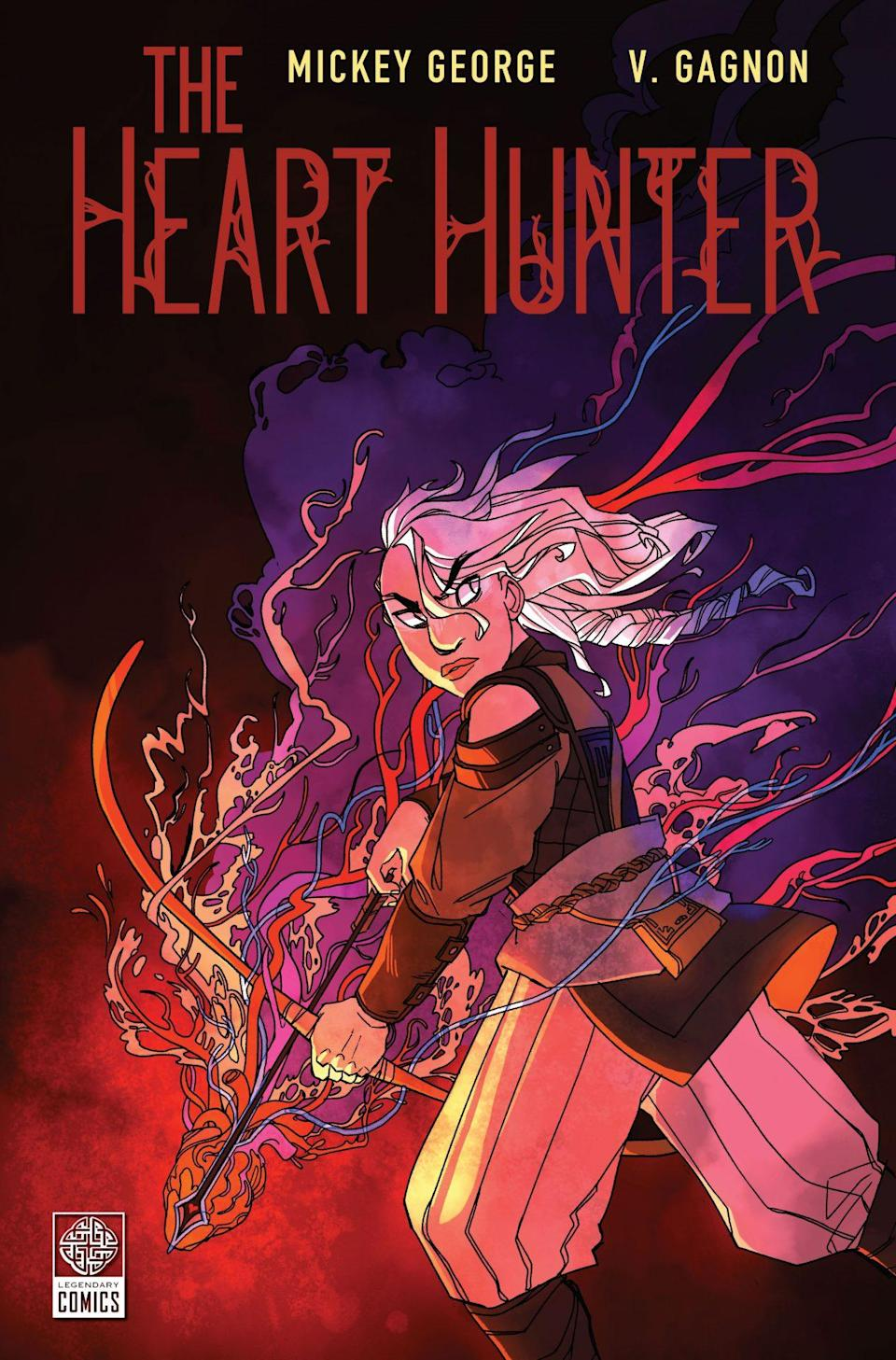 The cover for The Heart Hunter original graphic novel