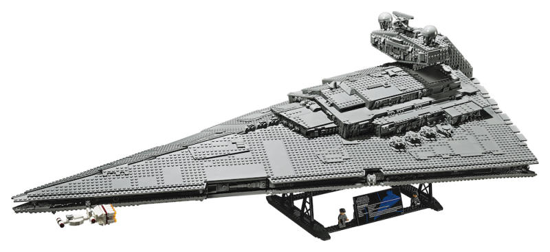 The completed model (Photo: Lego)