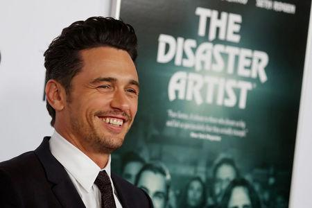 "Director and star James Franco arrives for the gala presentation of ""The Disaster Artist"" at the AFI Film Festival in Los Angeles"