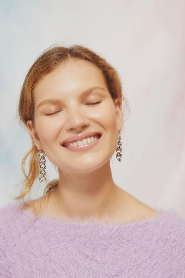 """<p><a href=""""https://www.popsugar.com/buy/Chunky-Chain-Statement-Drop-Earrings-497273?p_name=Chunky%20Chain%20Statement%20Drop%20Earrings&retailer=urbanoutfitters.com&pid=497273&price=16&evar1=fab%3Aus&evar9=46708649&evar98=https%3A%2F%2Fwww.popsugar.com%2Ffashion%2Fphoto-gallery%2F46708649%2Fimage%2F46709067%2FChunky-Chain-Statement-Drop-Earrings&list1=shopping%2Cjewelry%2Cunder%20%2450%2Caffordable%20shopping%2Cjewelry%20shopping&prop13=mobile&pdata=1"""" rel=""""nofollow noopener"""" class=""""link rapid-noclick-resp"""" target=""""_blank"""" data-ylk=""""slk:Chunky Chain Statement Drop Earrings"""">Chunky Chain Statement Drop Earrings</a> ($16)</p>"""