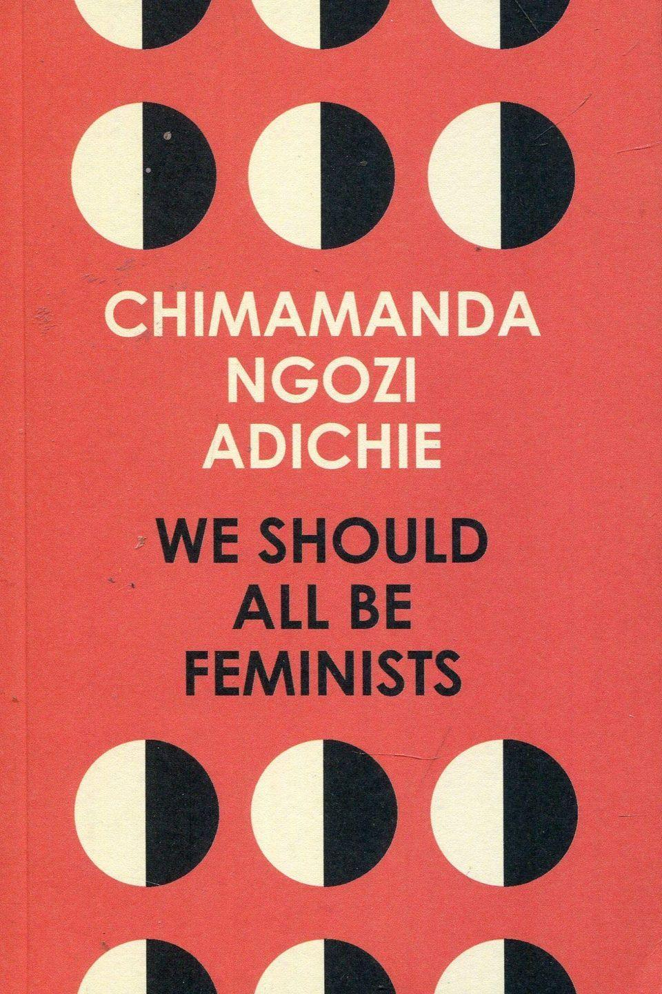 "<p>What does feminism mean today? Chimamanda Ngozi Adichie eloquently argues what it means to be a feminist in the 21st century.</p><p><a class=""link rapid-noclick-resp"" href=""https://www.amazon.co.uk/We-Should-All-Be-Feminists/dp/0008115273/ref=sr_1_1?crid=XSD3X8W3GN08&dchild=1&keywords=we+should+all+be+feminists&qid=1586947272&sprefix=WE+SHOULD+ALL%2Caps%2C187&sr=8-1&tag=hearstuk-yahoo-21&ascsubtag=%5Bartid%7C1921.g.32141605%5Bsrc%7Cyahoo-uk"" rel=""nofollow noopener"" target=""_blank"" data-ylk=""slk:SHOP NOW"">SHOP NOW</a></p>"