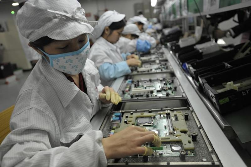 Apple Factory, China