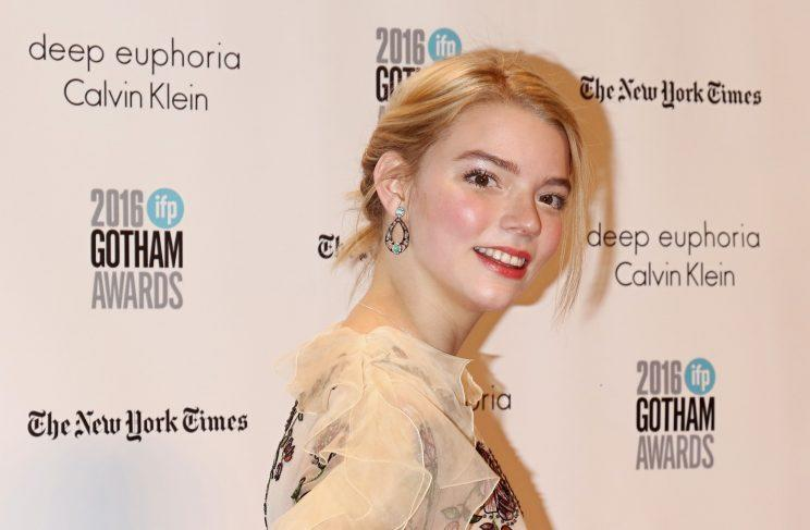 Actress Anya Taylor-Joy attends the 26th Annual Gotham Independent Film Awards. (Photo by Jim Spellman/WireImage)
