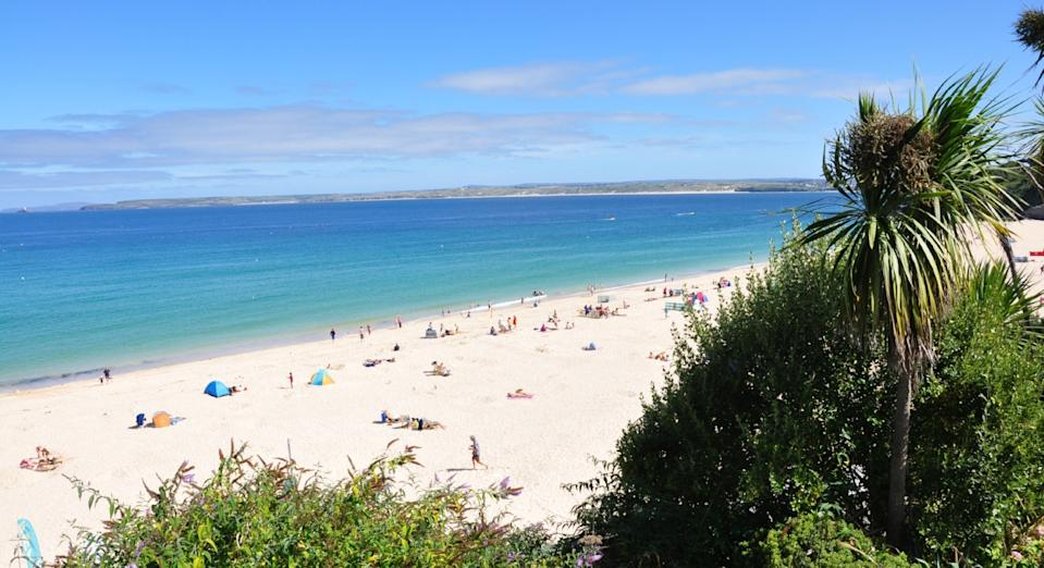 Porthminster Beach in Cornwall was named as one of the best in the UK by Tripadvisor earlier this year (Tripadvisor)