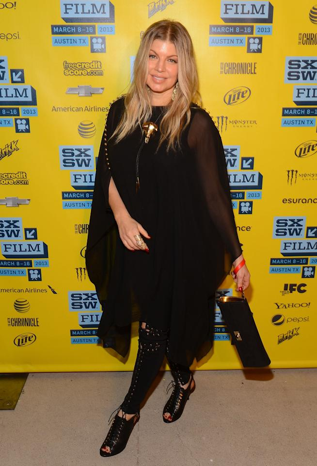AUSTIN, TX - MARCH 08:  Singer Fergie attends the 'Scenic Route' screening at the 2013 SXSW Music, Film + Interactive Festival held at the Topfer Theatre at ZACH on March 8, 2013 in Austin, Texas.  (Photo by Mark Davis/Getty Images)