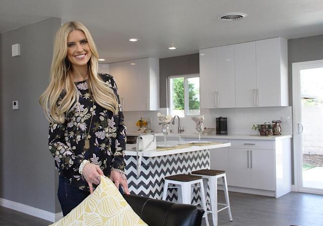 "Christina isn't ""going to let rumors or online trolls"" define who she is. (Photo: HGTV)"