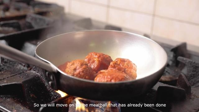 meatball secret recipe passed down from his mother