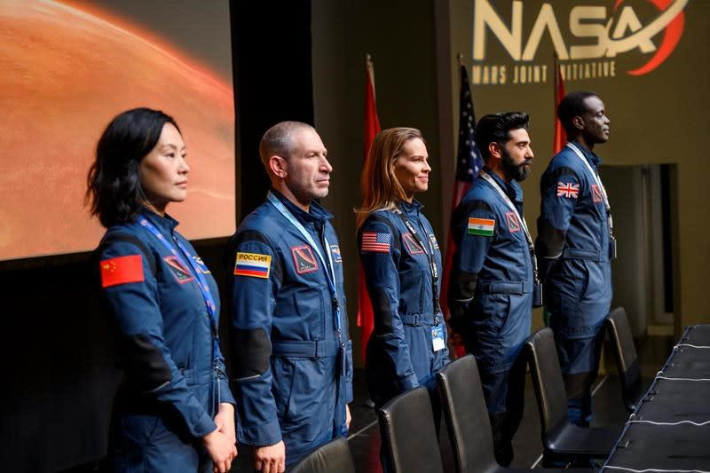 Hilary Swank leads a mission to Mars in Netflix's 'Away'