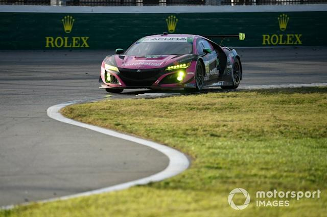 "#86 Meyer Shank Racing w/Curb-Agajanian Acura NSX GT3, GTD: Mario Farnbacher, Matt McMurry, Shinya Michimi, Jules Gounon <span class=""copyright"">Richard Dole / Motorsport Images</span>"