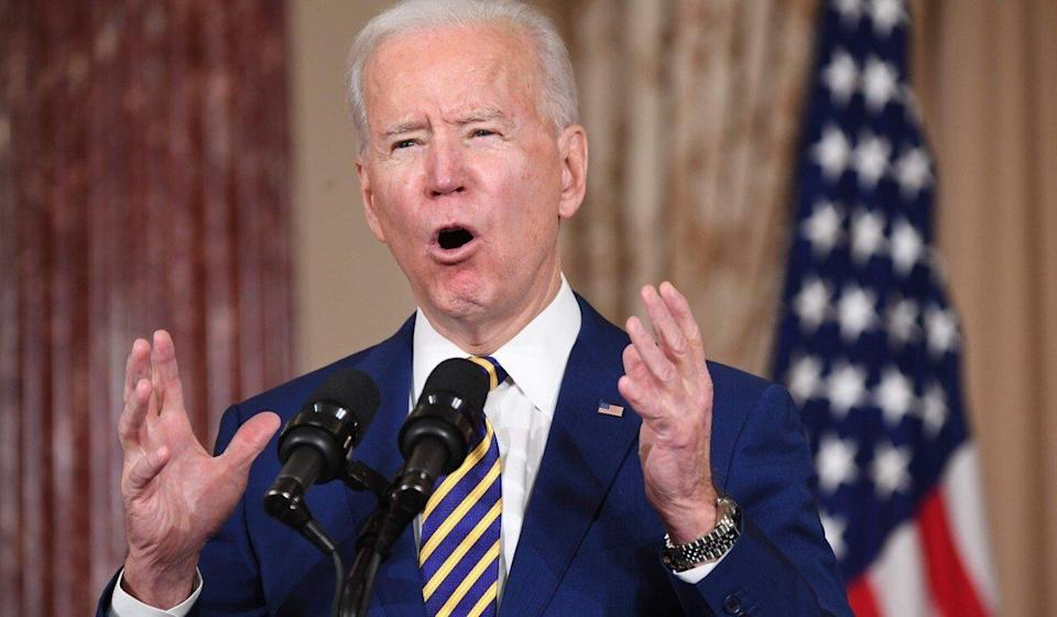 "President Joe Biden's administration launched an ""urgent initiative"" in response to the growing threat from China and Russia. Photo: AFP"
