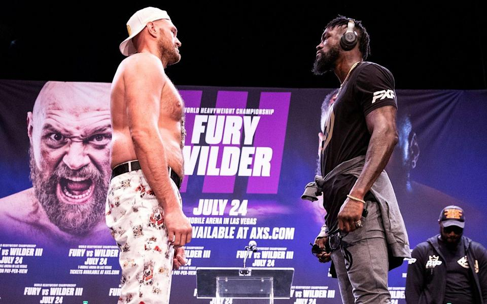 How to watch Tyson Fury vs Deontay Wilder 3 fight: live stream and TV channel information - SHUTTERSTOCK