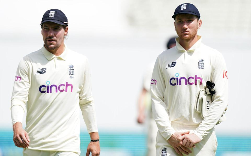 Rory Burns and James Bracey - England player ratings v New Zealand: Nightmare for James Bracey but strong signs for Rory Burns - PA
