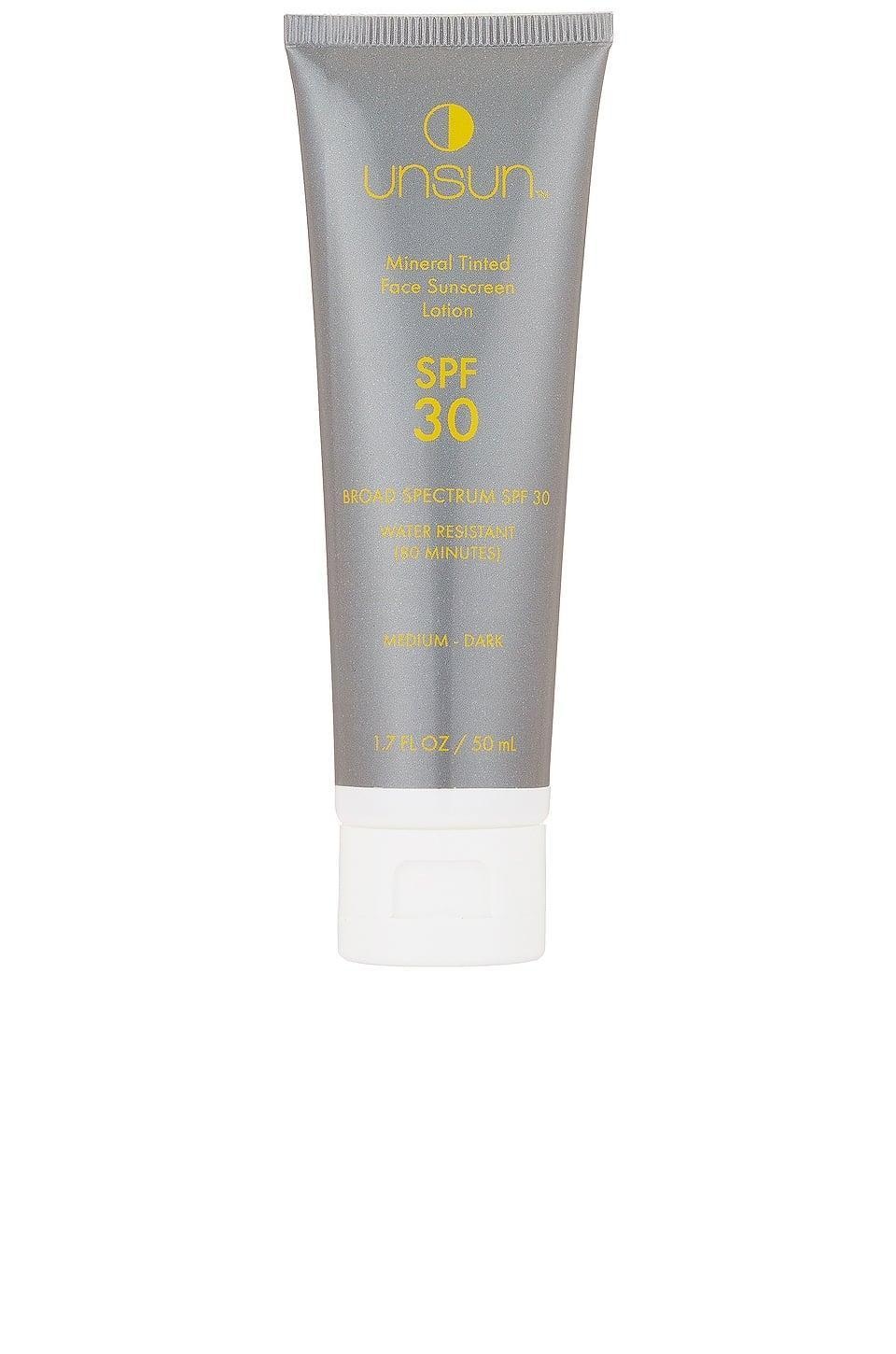 <p>The <span>UnSun Cosmetics Mineral Tinted Face Sunscreen SPF 30</span> ($29) will be your new everyday sunscreen!</p>