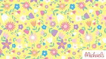 """<p>If you want to download something that you can leave up all season long, go for this candy-colored floral background. </p><p><a class=""""link rapid-noclick-resp"""" href=""""https://go.redirectingat.com?id=74968X1596630&url=https%3A%2F%2Fwww.michaels.com%2Fzoombackgrounds&sref=https%3A%2F%2Fwww.goodhousekeeping.com%2Fholidays%2Feaster-ideas%2Fg35822780%2Feaster-zoom-backgrounds%2F"""" rel=""""nofollow noopener"""" target=""""_blank"""" data-ylk=""""slk:DOWNLOAD HERE"""">DOWNLOAD HERE</a></p>"""