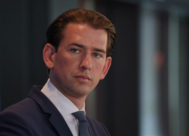 BERLIN, GERMANY - SEPTEMBER 09: Austrian Chancellor Sebastian Kurz attends a gathering of the European People's Party, the group of European Christian conservative parties in the European Parliament, on September 09, 2021 in Berlin, Germany. The EPP is holding a three-day group bureau meeting in Berlin.    (Photo by Sean Gallup/Getty Images) (Photo: Sean Gallup via Getty Images)