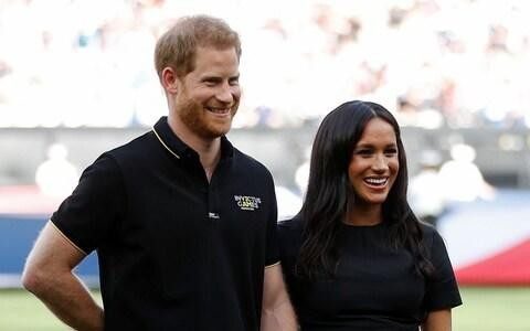 The Duke and Duchess of Sussex, who have launched a new foundation - Credit: PA