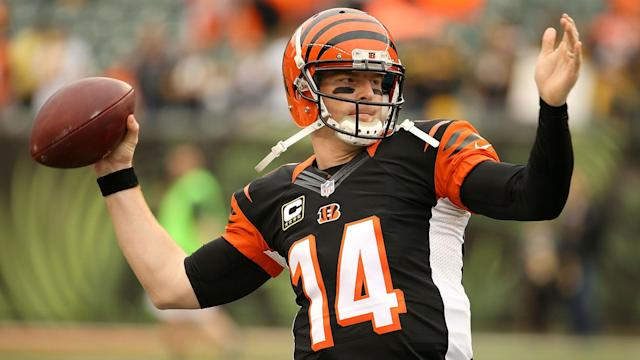 Dalton injured his thumb in the Bengals' 35-20 loss to the Browns.