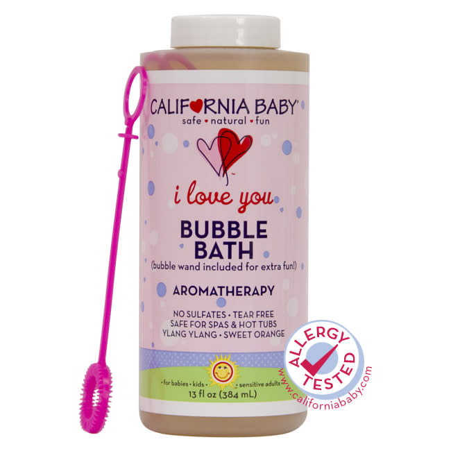 This citrusy aromatherapy bubble bath comes with a bubble wand, so it's great for kids. A portion of the proceeds will be donated to the California Breast Cancer Research Program.