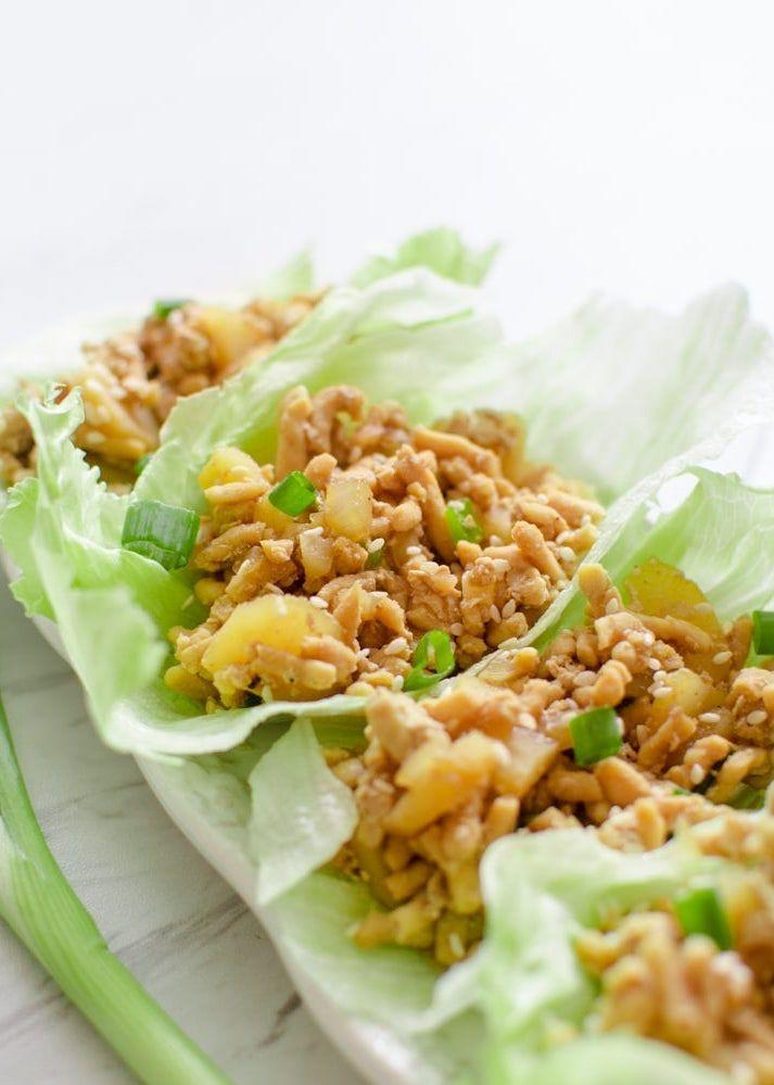 "<p>You'll officially never need to order these at a restaurant again. </p><p>Get the recipe from <a href=""https://cookingwithkarli.com/p-f-changs-chicken-lettuce-wraps/"" rel=""nofollow noopener"" target=""_blank"" data-ylk=""slk:Cooking with Karli"" class=""link rapid-noclick-resp"">Cooking with Karli</a>.</p>"