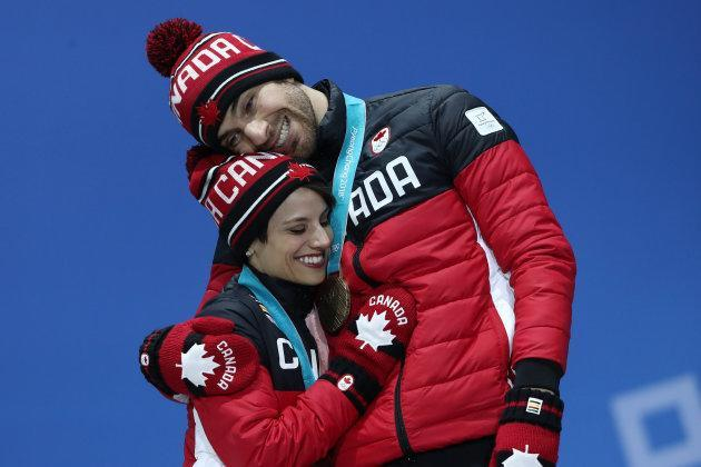 Bronze medalists Meagan Duhamel and Eric Radford have said they are hanging up their skates after the Olympics.