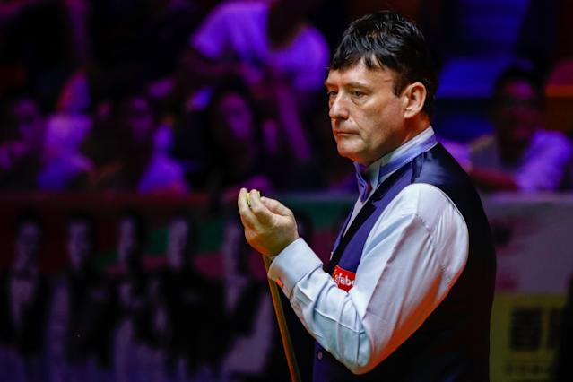 Jimmy White has won his second World Seniors Snooker Championship. (Credit: Getty Images)