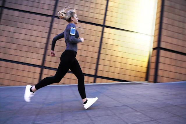 Would you take a supplement if it helped you run faster? (Photo: Getty Images)