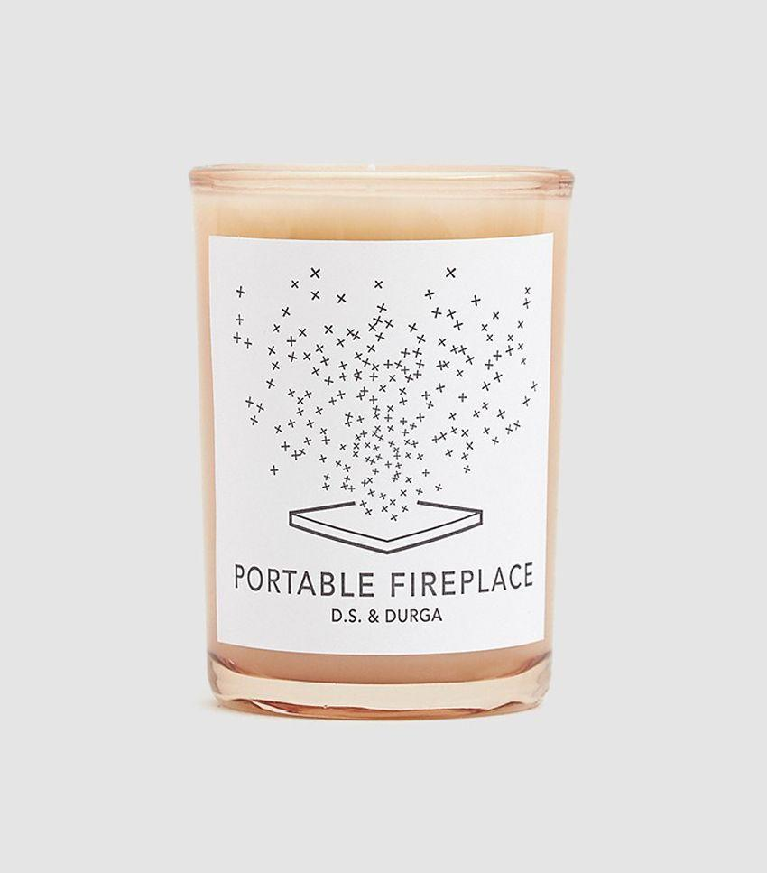 No fireplace? No problem—this scented candle will cozy up your space in no time.