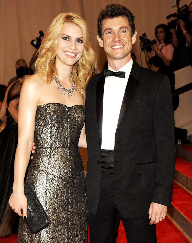 "After dating ""Stage Beauty"" co-star Billy Crudup, Claire Danes met her new love, Hugh Dancy, while filming ""Evening."" Rabbani and Solimene Photography/<a href=""http://www.wireimage.com"" target=""_blank"">WireImage</a> - May 8, 2010"
