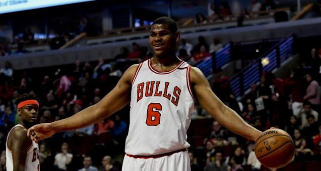 "<a class=""link rapid-noclick-resp"" href=""/nba/players/5522/"" data-ylk=""slk:Cristiano Felicio"">Cristiano Felicio</a> has played two seasons with the Bulls. (AP)"