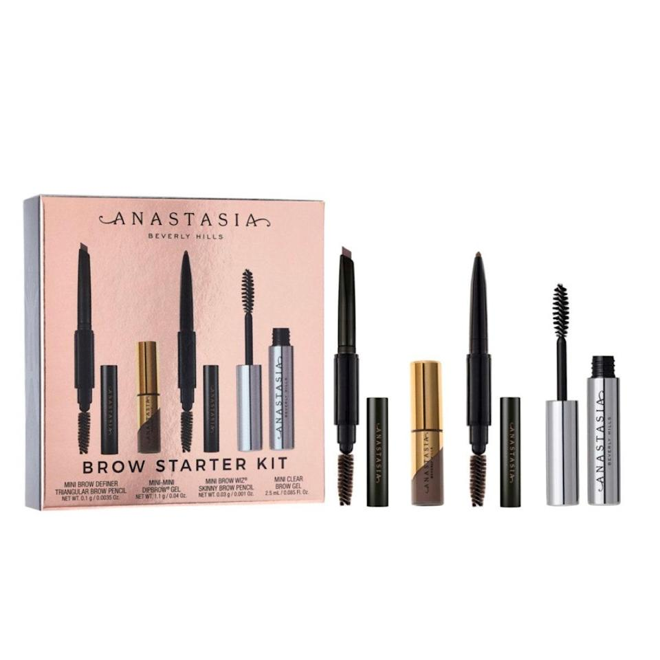 """Brows are more important than ever, and this kit has everything you need to get yours in tip-top shape. Whether you're a die-hard fan of the brand or want to dip your toes in with a sample pack, this deal is too good to pass up. $38, Ulta. <a href=""""https://shop-links.co/1716515782042922457"""" rel=""""nofollow noopener"""" target=""""_blank"""" data-ylk=""""slk:Get it now!"""" class=""""link rapid-noclick-resp"""">Get it now!</a>"""