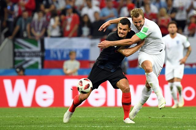 Not his night: Six-goal Harry Kane really should have scored in the first half
