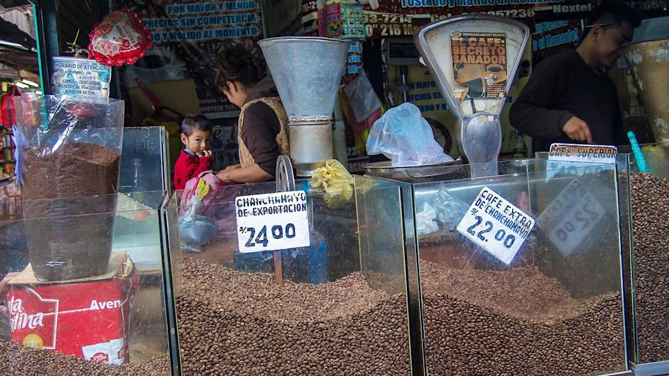 coffee prices in Lima Peru