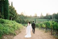 "<p>An admittedly late, <a href=""https://www.harpersbazaar.com/wedding/planning/g30247361/wedding-trends-2020/"" rel=""nofollow noopener"" target=""_blank"" data-ylk=""slk:amped-up appreciation for sustainability"" class=""link rapid-noclick-resp"">amped-up appreciation for sustainability </a>was said to be a top trend in design and planning for 2020, until this year's gatherings were put on pause. While many events were inherently more sustainable given their smaller scale, this year's weddings were more locally-sourced than ever before—planned in backyards, gardens, and on terraces with help from neighborhood vendors. 2021 weddings promise to continue that trend, with much of the product—from food and beverage to floral—being sourced as locally as possible, limiting carbon emissions in transportation and supporting small, artisan businesses. <br></p><p>An all-in-one package may seem like the easiest option, but couples are realizing that it's more important to support small businesses, and work with brands they feel align with their values. From sustainable farmers to local vineyards, butchers, bakers, and more, getting married somewhere is now a commitment to supporting a local economy that undoubtedly felt the effects of 2020. </p><p>Getting married in the Northwest? Find a wine supplier based in the Napa or Willamette Valley to support your beverage service. Wedding in the Midwest? Sourcing the very best quality meat locally should be a must—the list goes on.</p><p><em>Pictured: <a href=""https://www.harpersbazaar.com/wedding/photos/a33369680/stacia-harris-mario-davis-wedding/"" rel=""nofollow noopener"" target=""_blank"" data-ylk=""slk:Stacia & Mario's intimate Napa Valley wedding"" class=""link rapid-noclick-resp"">Stacia & Mario's intimate Napa Valley wedding</a></em></p>"
