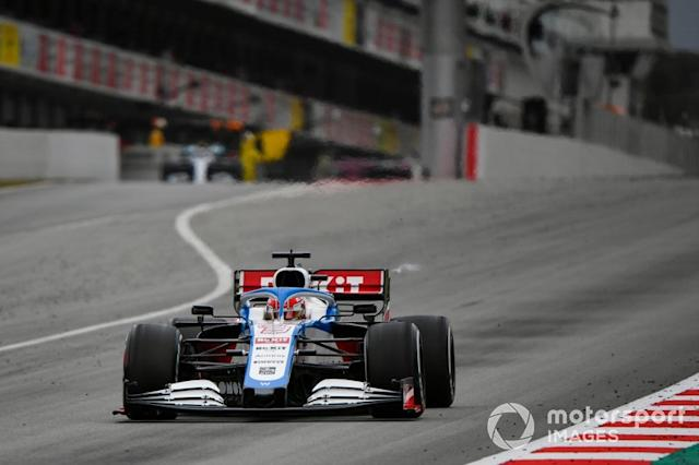 """George Russell, Williams FW43 <span class=""""copyright"""">Mark Sutton / Motorsport Images</span>"""