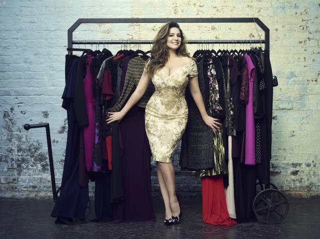 Kelly Brook's photo for the Cancer Research and TK Maxx campaign. (Photo: Jason Bell)