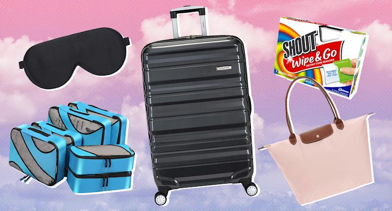 Expert tips on how to pack like a pro this travel season. (Photo: Amazon, Walmart, Nordstrom, Art: Yahoo Lifestyle photo-illustration)